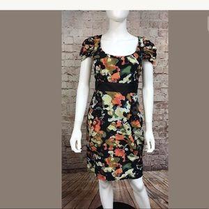 Moulinette Soeurs Dress Size 2 Anthropologie Silk